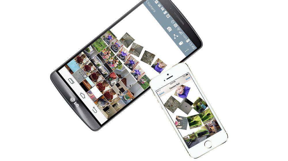 Bilder, kontakter og annet fra Android-telefonen din kan lett flyttes til iPhone.