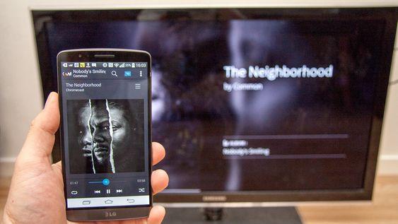 Deezer lar deg strømme musikk fra internett til TV-en.