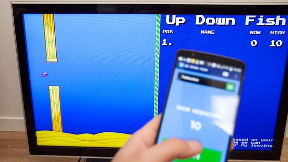 Det finnes selvsagt en Flappy Bird-klone til Chromecast.