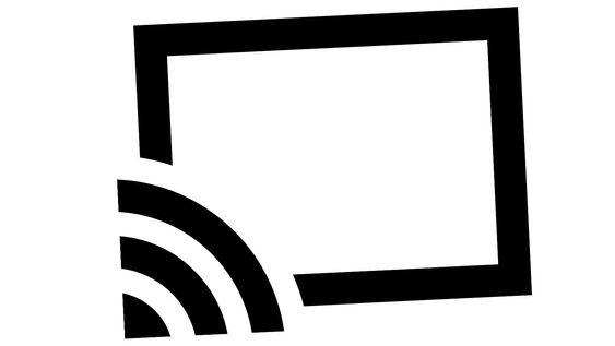 Ser du dette ikonet kan innholdet sendes til Chromecast.