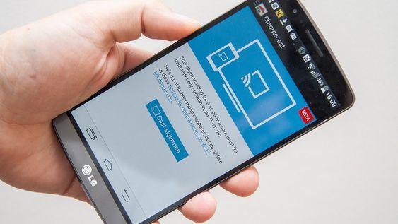 Du kan speile mobilskjermen til TV-en. I teorien i alle fall. Vi har ikke fått det til å fungere med LG G3.