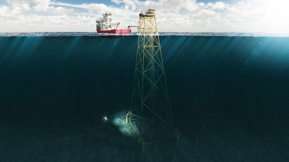 Subsea on slim legs er en av Statoils mulige løsninger for å få ned kostnadene på sokkelen.