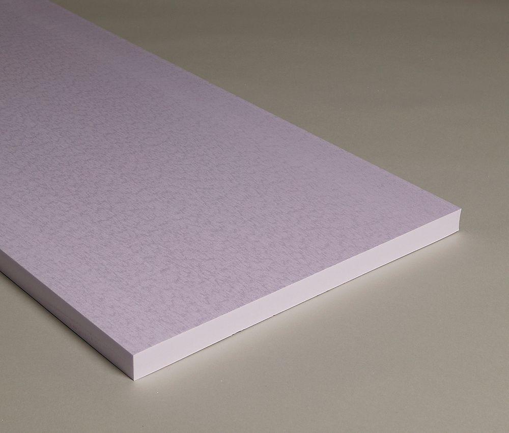 Den nye isolasjonsplaten gir 30 prosent bedre isolasjon enn forgjengeren.