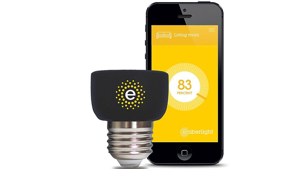 Emberlight er en sokkel som gjør alle lyspærer som kan dimmes smarte.
