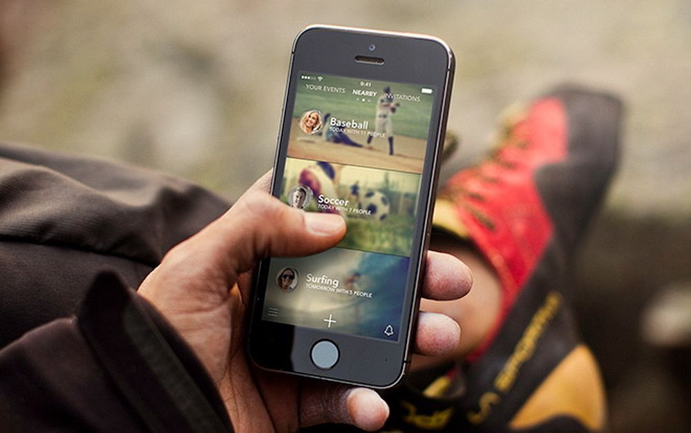 Vil du ha noen å sparke ball med? Nå fins det en app for det.
