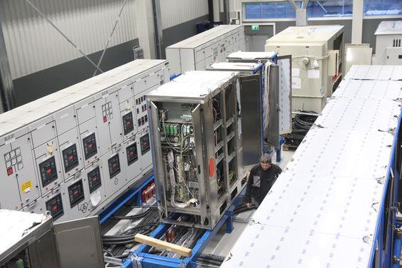 Kontroll: I testsenteret til Wärtsilä har de jobbet med utviklingen av Low Loss Hybrid-systemet (LLH).