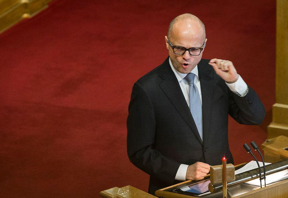 EU-minister Vidar Helgesen (H)