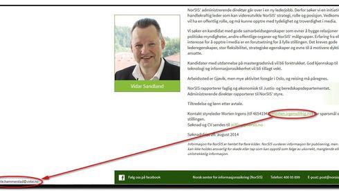 Her gjør Norges formelle ekspertise på forebyggende it-sikkerhet en sikkerhetstabbe
