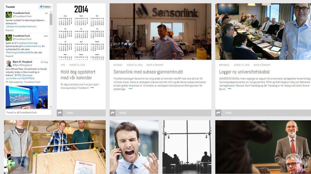 Trondheimtech.no samler de siste nyhetene fra innovasjonsmiljøet i Trondheim.