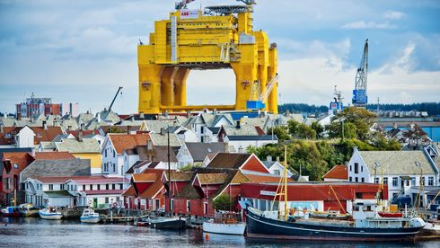Verdens største anlegg for offshore likestrøm har ankommet Haugesund