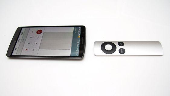 Android og Apple TV kan bli gode venner om du programmerer telefonen til å snakke samme språk som Apples fjernkontroll.