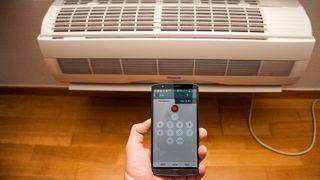 Slik styrer du varmepumpa med mobilen
