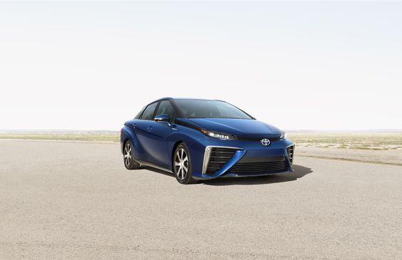 Mirai er navnet på Toyotas første brenselcellebil beregnet på masseproduksjon.