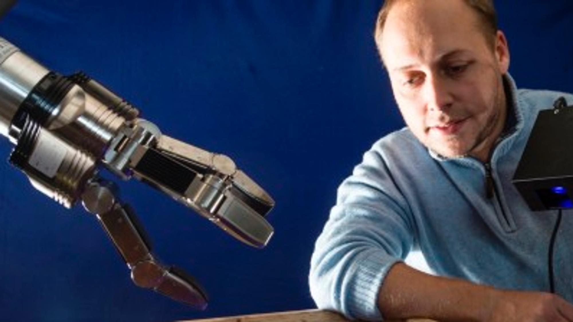 Roboter får 3D-syn med spillteknologi