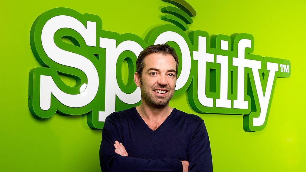 Spotify, her representert ved selskapets Sør-Europa-sjef Yann Thébault, genrerer større inntekter til artistene enn Apples iTunes i Europa.