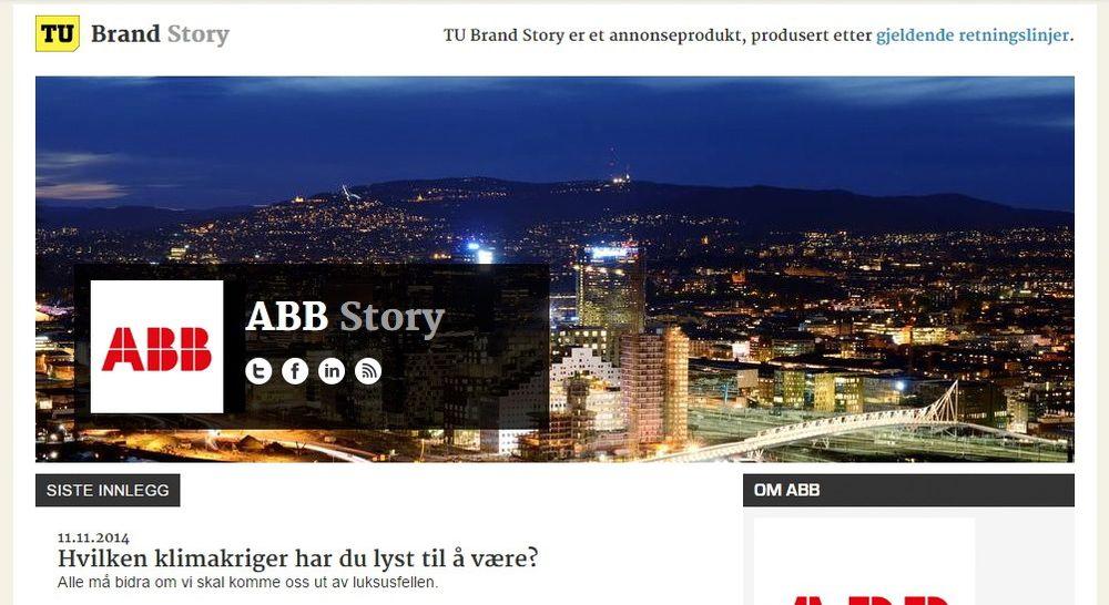 BrandStory er TUs nye annonseprodukt.