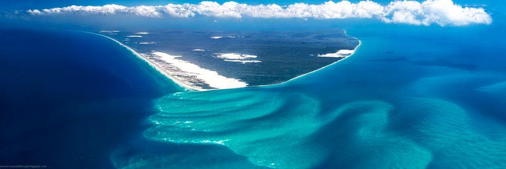 Breaksea Spit, ved Fraser Island på utsiden av Australia, er ifølge Maersk Oil meget sammenlignbar med hvordan Johan Sverdrup-feltet var for 150 millioner år siden.