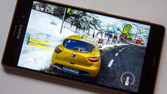 Remote Play på Sony Xperia Z3 med høyeste streamingkvalitet aktivert.