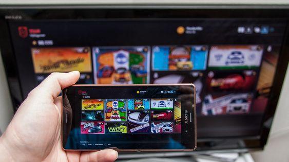 Remote Play lar deg spille favorittspillene dine hvor som helst. Du bør ha en rimelig rask ruter for at funksjonen skal fungere så bra som mulig.