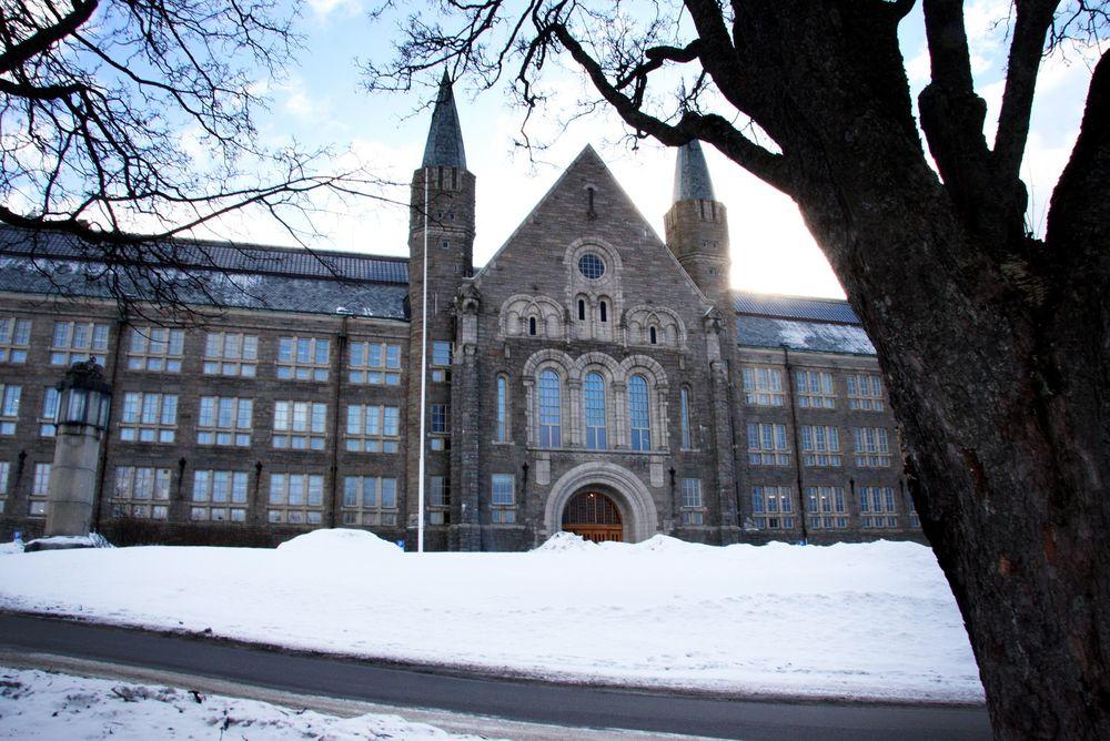 Kan vokse: Hovedbygningen ved NTNU Gløshaugen i Trondheim kan bli sentrum for et enda større universitet.