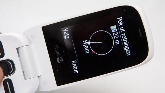 GPS-funksjonen begrenser seg til å peke himmelretningen målet er i. Det er også mulig å sende posisjonen sin via GPS, og lagre et sted slik at du kan finne tilbake dit.