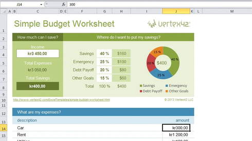 Slik kan du bruke Excel-ark til «alt»