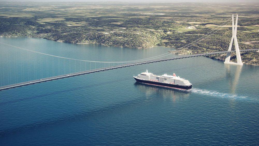 Nito-ingeniørene mener bru er en langs bedre løsning enn tunnel som ny Oslofjordkryssing. Illustrasjonsbilde.