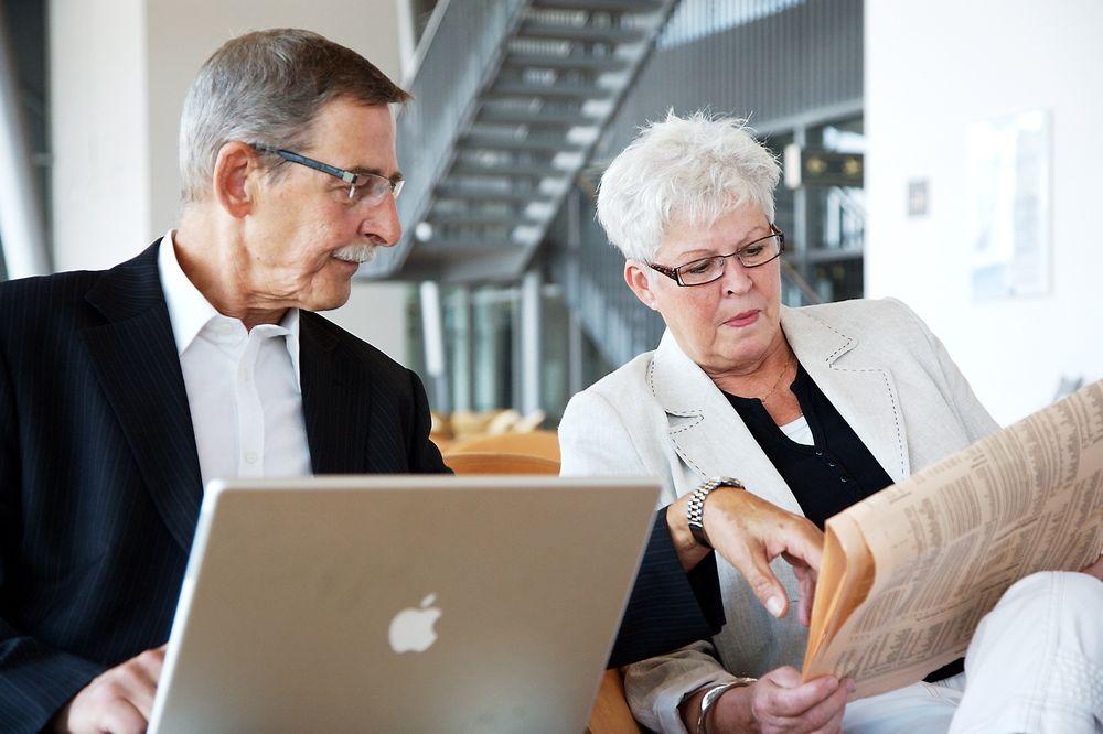 Det viktigste rådet er at du må være åpen for å lære deg nye ting selv om du drar på årene, mener karriererådgiver.