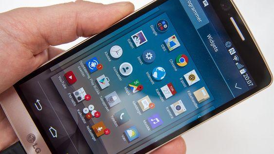 LG lar deg fjerne de fleste ikke-nødvendige appene. Sine egne også.