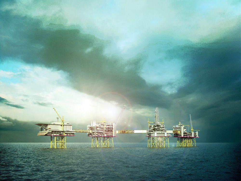 Strømtap: Ved full effekt på overføringen av kraft til Utsirahøyden vil 11–12 prosent av kraften gå tapt på veien, ifølge Statoil.