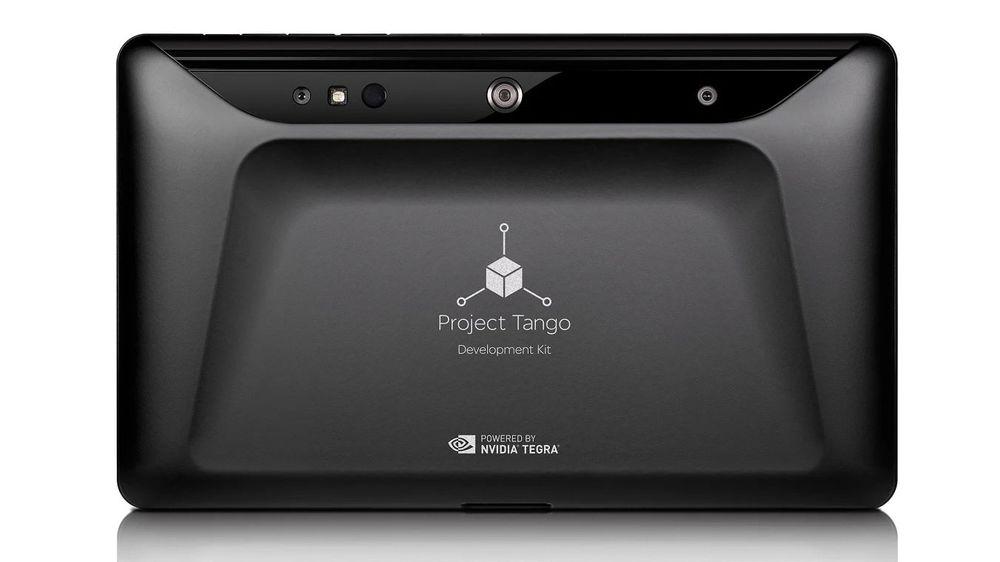 Googles Project Tango-nettbrett kan registrere verden rundt seg i 3D.