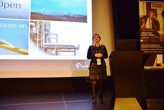 Sonja Chirico Indrebø, IT-direktør i Statoil.