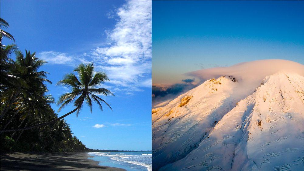 Både Papua Ny-Guinea og Jan Mayen ligger der kontinentalplater møtes, med store forekomster av metaller på havbunnen.