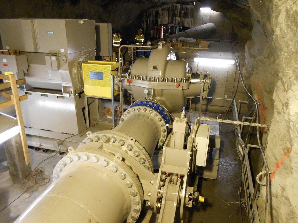 Den nye pumpen i Aurland gjør at Eco kan flytte deler av vannkraftproduksjonen sin fra sommeren og høsten, når prisene er lave, til vinteren, når prisene er høyere.