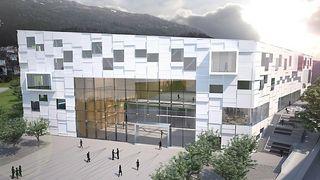 Statsbygg henter inspirasjon fra Porsche til dette bygget