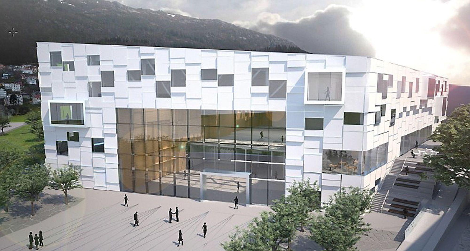 Statsbygg bruker samme metode som bilprodusenten Porsche når de bygger ny kunsthøyskole i Bergen.