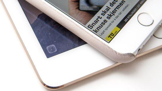 Handoff-ikonet vises i nederste venstre hjørne på iOS-enhetene dine, og i appveksleren.