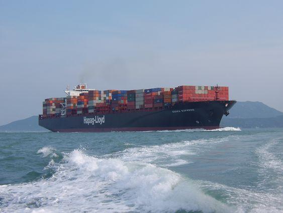 Hapag-Lloyd containerskip med plass til 8.749 TEU. Skipet er 335 meter langt og 43 meter bredt. Det er på 103.662 dødvekttonn. De nye Triple E-klasseskipene til Maersk kan ta 18.300 TEU og er 400 meter lange og 59 meter brede.