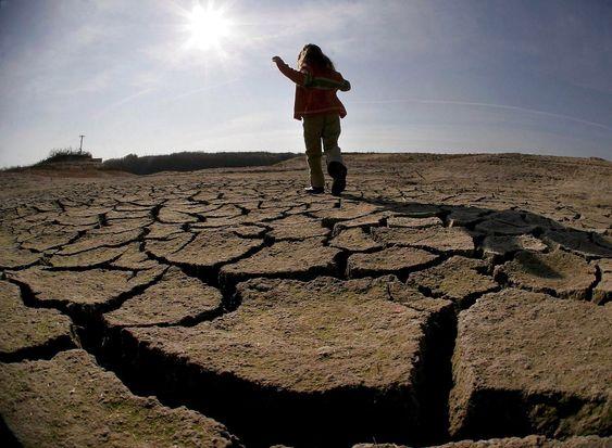Tørken i Hellas i 2007 rammet jordbruket hardt. Klimaendringer vil med høy sannsynlighet bidra til flere hendelser som dette.