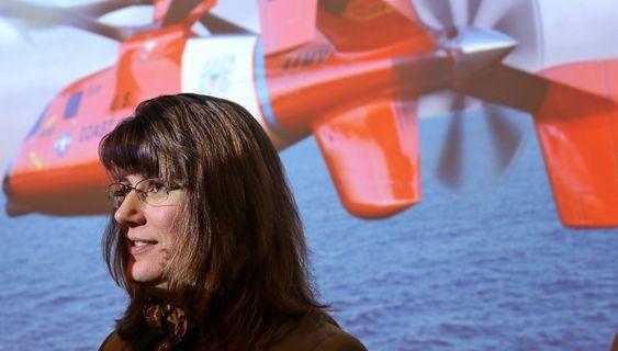 Audrey Brady er direktør for S-92-programmet i Sikorsky.