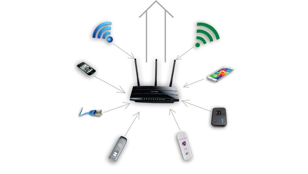 Med programvare fra Celerway kan ruteren slå sammen nettverk, enten de er kablede, trådløse eller mobile.