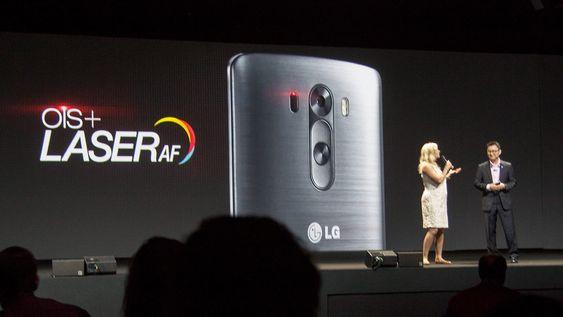 Laserautofokus på en smarttelefon er antakelig det beste siden oppskjært brød om du spør LG.