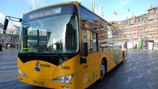 Batteribussen er 44 prosent dyrere i drift enn en dieselbuss