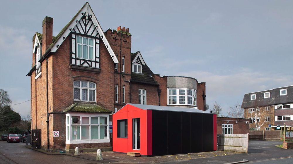 Y:Cube er en 26 kvadratmeter stor enhet som skal gi innbyggere i London et rimeligere boalternativ.