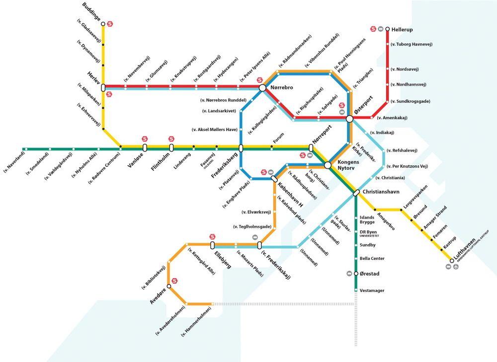 Den nye metrolinjen er klar om ni år og vil gå til Sydhavnen.