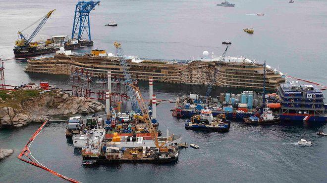 «Urban explorer» tok seg inn i Costa Concordia og filmet ulovlig