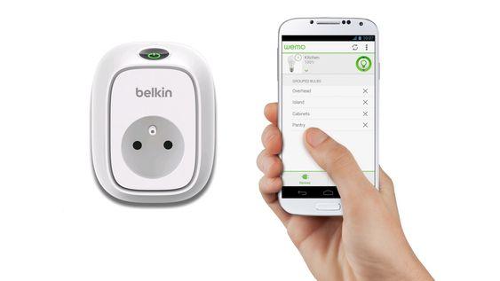 Belkin WeMo lar deg styre stikkontakter og mye annet ved hjelp av smarttelefonen.