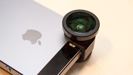 Olloclip lager linser du kan sette utenpå iPhones kameralinse.