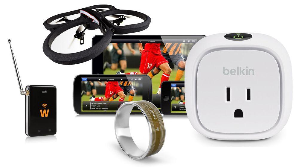 Det finnes mye smart tilbehør til smarttelefoner. Her er et knippe av det mer eller mindre nyttige slaget.