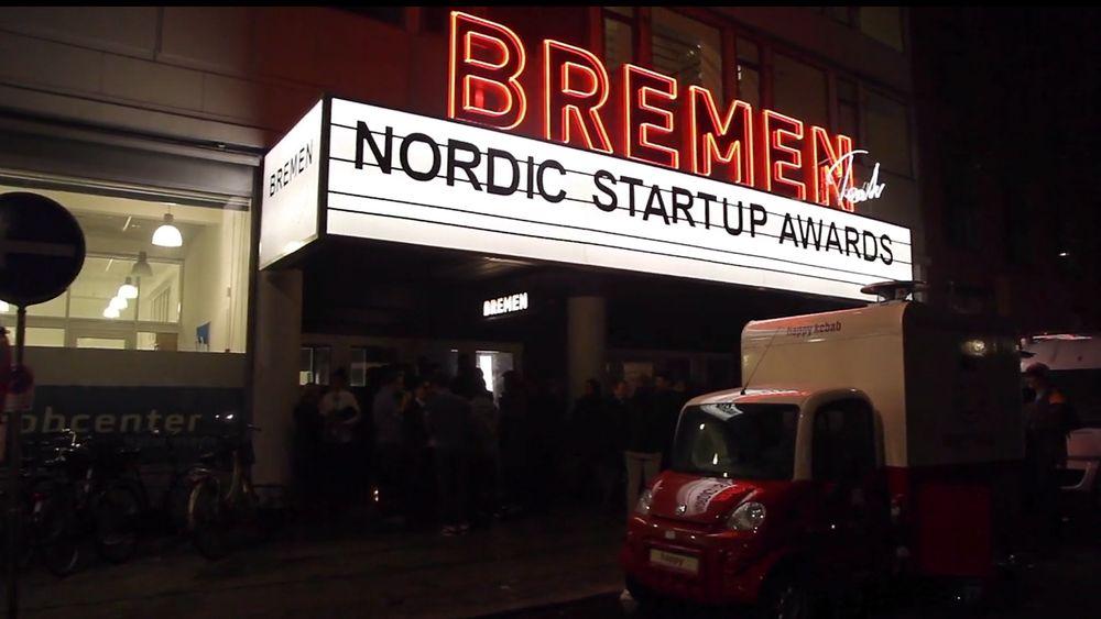 I kveld kåres de beste i det nordiske gründermiljøet, når Nordic Startup Awards arrangeres på Edderkoppen i Oslo. Bildet er fra fjorårets kåring i København.